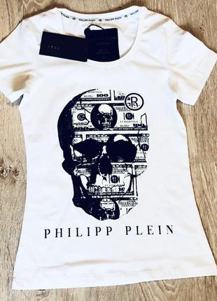 Новая женская футболка philipp plein.
