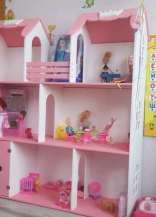 Кукольный домик для кукол Барби. Домик для кукол