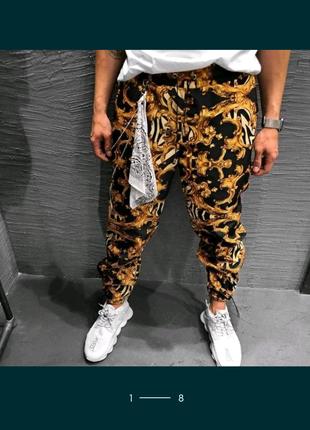 Мужские штаны джоггеры.  Gucci