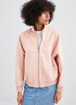 Cтильная замшевая курточка zara