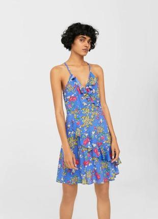 Красивое летнее платье mango
