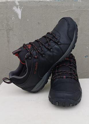 Кожаные ботинки кроссовки columbia peakfreak 41 р. оригинал