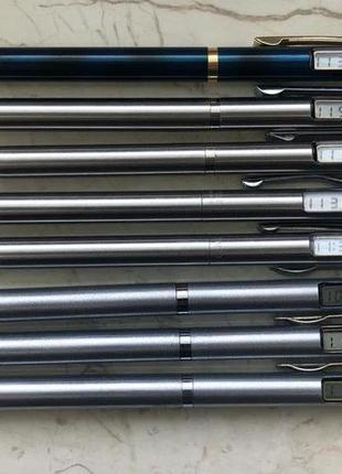 Продаю коллекционные ручки с электронными часами. Часы в ручке.