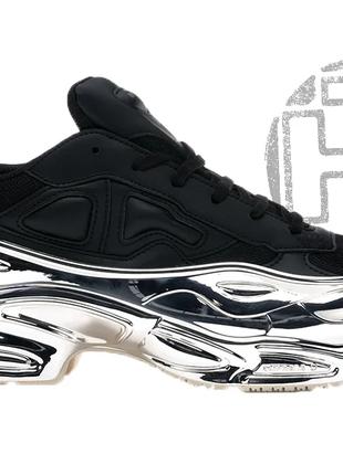 Женские кроссовки adidas raf simons ozweego black/silver metal...