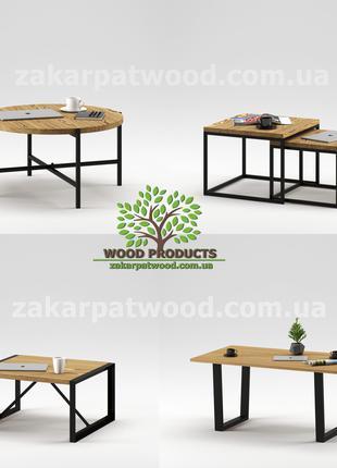 Стіл в стилі лофт, стул лофт, столи