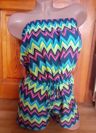 Ромпер комбинезон с  шортами.распродажа! можно для  беременных...