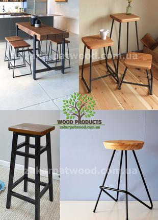 табурети лофт, LOFT, вироби із металу, стул в стиле лофт1