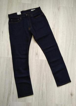 Джинсы мужские темно-синие marks & spencer размер w34/l33 slim