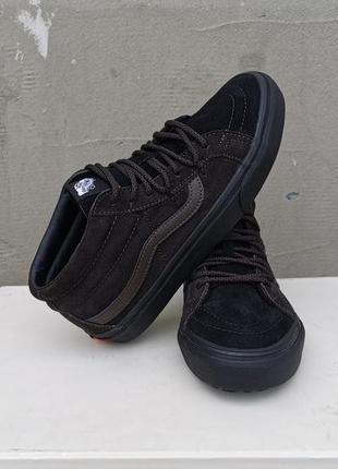 Демисезонные ботинки кроссовки кеды vans унисекс 39 р. оригинал