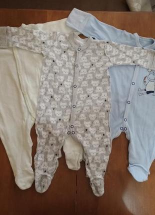 Набор 3 человечка (шапочка, носочки, царапки в подарок)