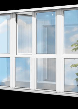 Балконы лоджии остекление, изготовление-монтаж-сервис