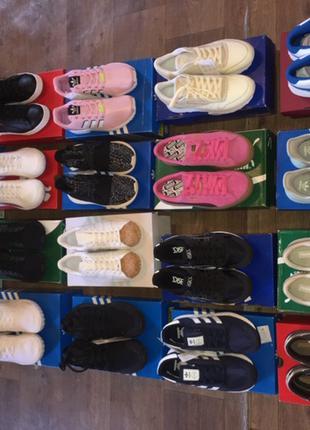 Лоты спортивной обуви  Adidas, Puma, Nike,21 е/пара