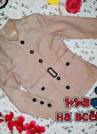 🎁1+1=3 базовое женское бежевое пальто под кашемировое george, ...