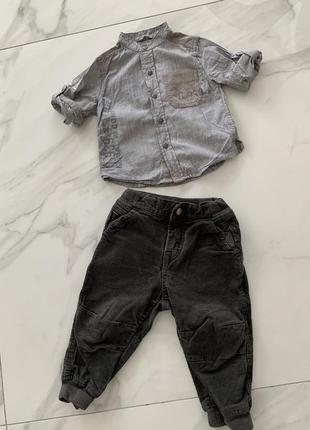 Набор рубашка , штаны на год