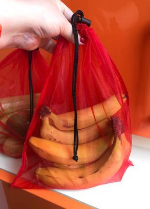 эко мешочки торба торбинка фруктовка сетка мешок еко мішечки