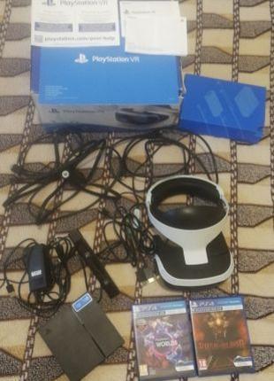 Vr PS4. Очки виртуальной реальности