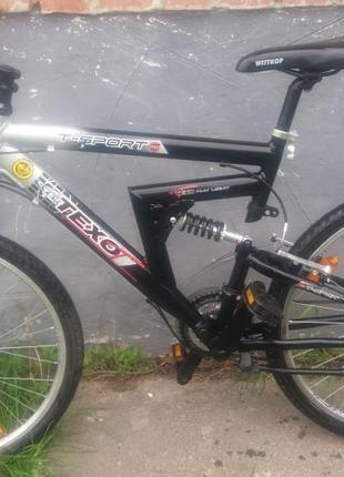 Велосипед з Германії TEXO алюмінієвий