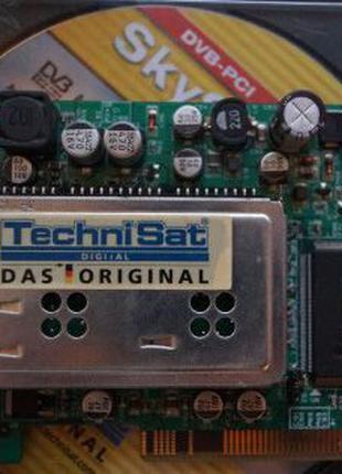 Спутниковый ресивер тюнер DVB плата SkyStar для просмотра ТВ н...