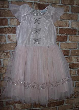 Нарядное платье 10 лет next