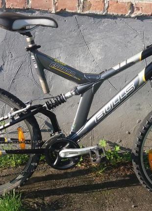 Велосипед з Германії BULLS алюмінієвий