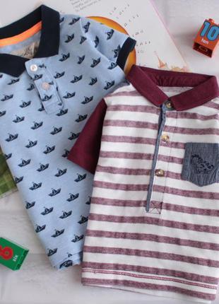 Стильные футболки поло на малыша