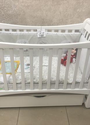 Детская кроватка Верес Соня ЛД20 + матрас