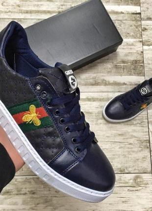 Мужские кроссовки gucci 🔥топ качество