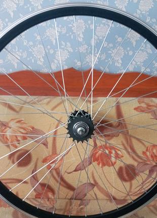 Вело колёса 28 дюймов на двойном ободе фикс Traveller