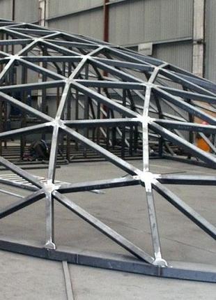 Проектирование и производство нестандартных металлоконструкций.