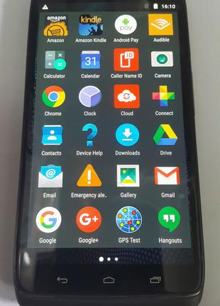 Смартфон Motorola Droid Turbo XT1254 3/32 одна трещина на сенсоре
