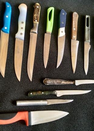 Ножи кухонные б/у