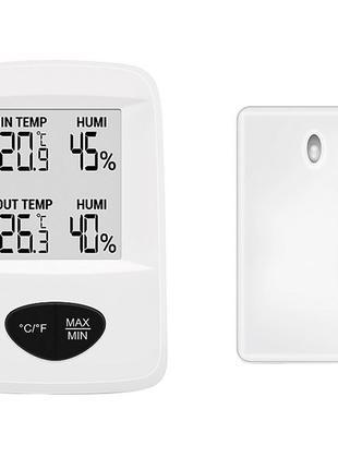 Термо-гигрометр цифровой Стеклоприбор Т-20, -30/+60°C