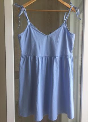 Новое лёгкое летнее платье на брительках