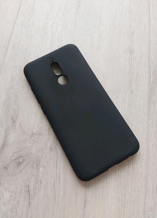 Xiaomi Redmi 8 чехол силиконовый черный