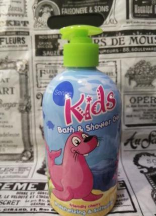 Детский гель для душа, пена для ванны kids friendly cherry 500мл