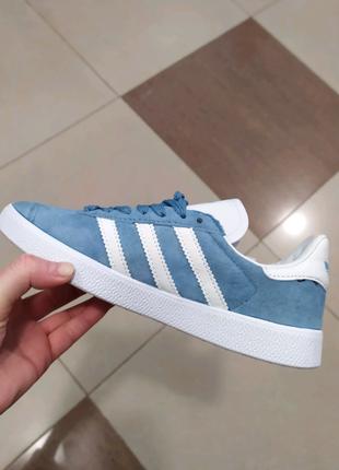 Замшевые кроссовки adidas gazelle, 36-40