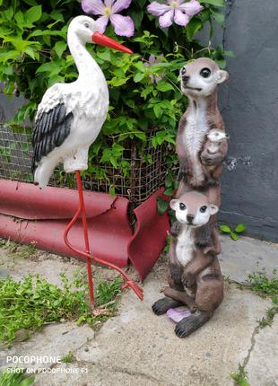 Садовая скульптура. Фигурки животных