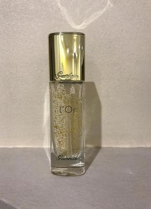 Guerlain l`or основа под макияж с частицами золота