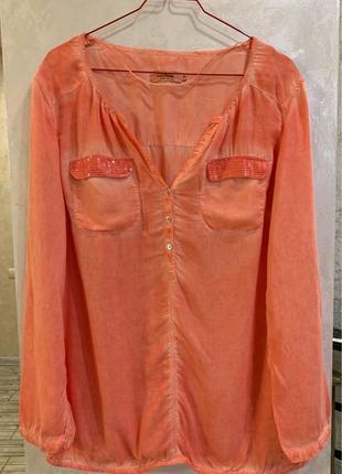 Блуза бренда Tom Tailor, размер 42 евро, L.