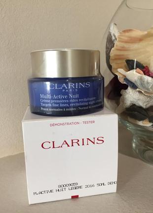 Clarins multi-active nuit ночной крем для лица
