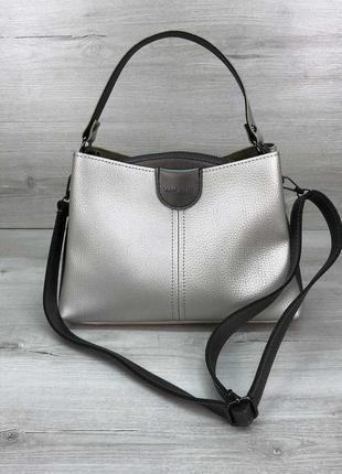 Стильная молодежная женская сумка