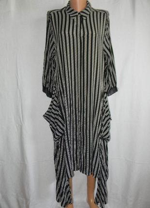 Платье рубашка оригинального кроя