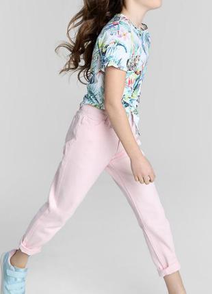 Нежно розовые джинсы 🔥🔥🔥 на 10 лет