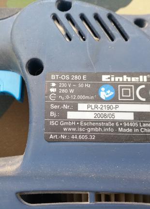 Виброшлифмашина Einhell BT-OS 280 E