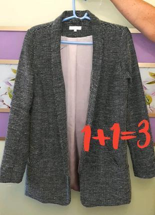 🎁1+1=3 элегантный удлиненный модный пиджак оверсайз vila, разм...