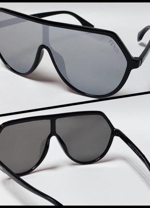 Стильные солнцезащитные  женские очки маска
