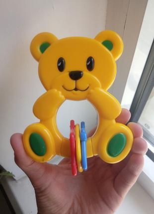 Погремушка/детская игрушка мишка Simba Toys в отличном состоянии