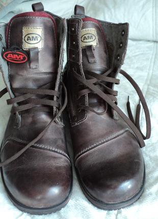 Мужские ботинки 43 размер германия