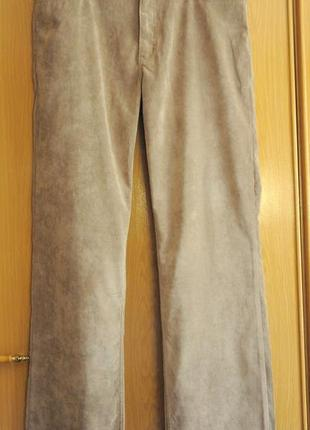 Мужские брюки микровельвет размер 36