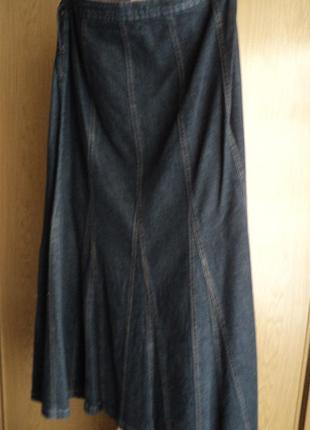 Модная юбка джинсовая